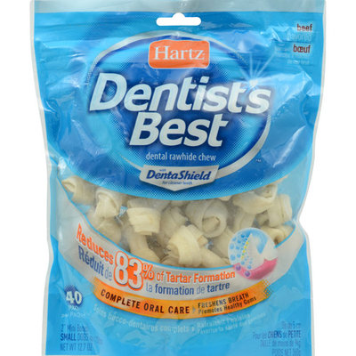 Hartz Dentist's Best Mini Bones: 40 Pack