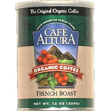 Cafe Altura Organic Ground Coffee French Roast - 12 oz