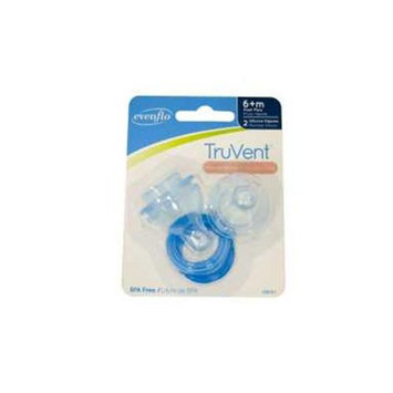 Evenflo Ameda TruVent Purely Comfi Fast Flow Nipple & Ring