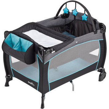 Evenflo Portable BabySuite 300 Play Yard - Koi (Blue)