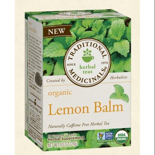 Traditional Medicinals Teas Lemon Balm Organic - 16 Tea Bags
