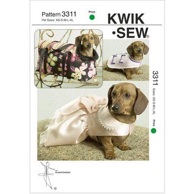 Mccall Pattern Pet Jacket, Dress and Carrier Pattern-XS-S-M-L-XL