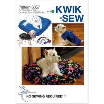 Mccall Pattern Pet Pillows, Jackets & Toys-Pillow: S-M-L Jacket: XS-S-M-L Pattern