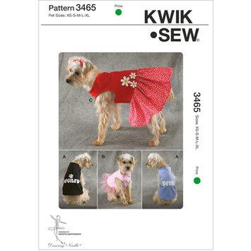 Mccall Pattern Shirts and Dress pattern-Pet XS-S-M-L-XL