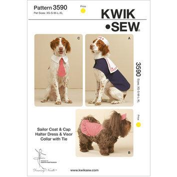 Mccall Pattern Jacket, Dress, Hat, Visor & Collar with Tie Pattern-XS-S-M-L-XL