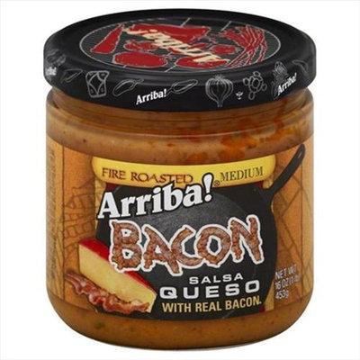 Arriba 16 oz. Salsa Bacon Queso Case Of 6