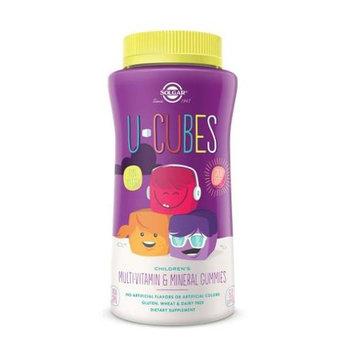 Solgar U Cubes Multi-Vitamin & Mineral Gummies Grape Orange Cherry - 120 Gummies
