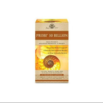 Solgar Probiotics Probi 30 Billion 30 Vegetable Capsules