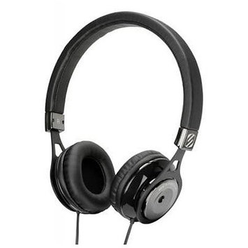 SCOSCHE RH600BK Realm On Ear Headphones - Black