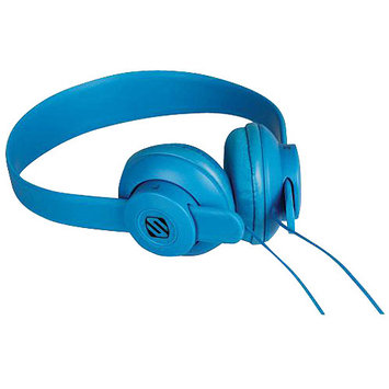 Scosche Industries, Inc. Scosche On Ear Headphones - Stereo - Blue - Wired - Over-the-head