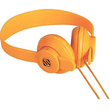 Scosche lobeDOPE On Ear Headphones Orange