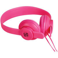 Scosche On Ear Headphones Pink with Microphone