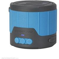 Scosche BTBTLMBL Boombottle Rugged Weatherproof Speaker, Blue