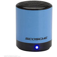 Scosche BTCANBL BoomCAN Bluetooth Compact Wireless Speaker - Blue
