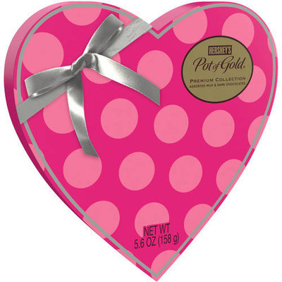 Hershey's Pot of Gold Premium Assorted Chocolates Valentine's Heart