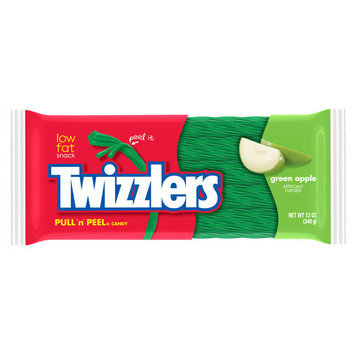 Twizzlers Twizzler Pull 'N' Peel Green Apple Licorice