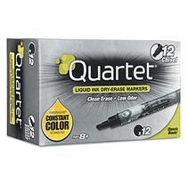 Quartet 50012M Enduraglide Dry Erase Markers Black 12 Pack