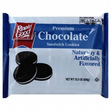 Ripon Good Cookie Sandwich Chocolate 15.5 Oz Pack Of 12