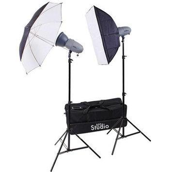 RPS Studio RS-SR300DK 600 Watt / Second Portable 2-Monolite Lighting Kit