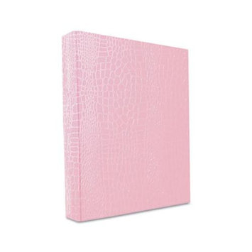 Aurora Products PROformance II Round Ring Binder, Non-View, Letter Size, 1 Capacity, Pink