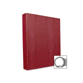Aurora Products PROformance II Round Ring Binder, Non-View, Letter Size, 1 Capacity, Red