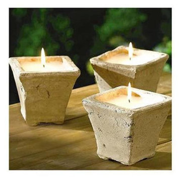 Olympic Mountain Products Citronella Candles 3 Count