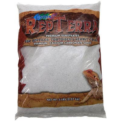 Estes RepTerra Premium White Calcium Carbonate Sand, 5 lbs.