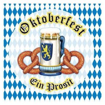 Beistle Bulk Buys Oktoberfest Luncheon Napkins - Case of 60