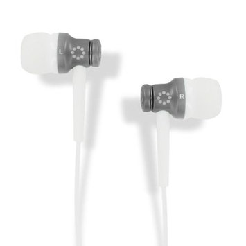 Memorex 98257 Elec In-earbuds Eb50 Accs Charcoal