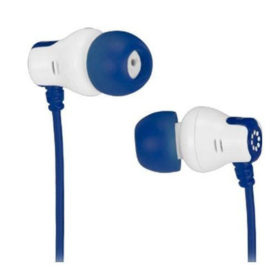 Memorex CB25 Comfort and Style Earbuds, Blue
