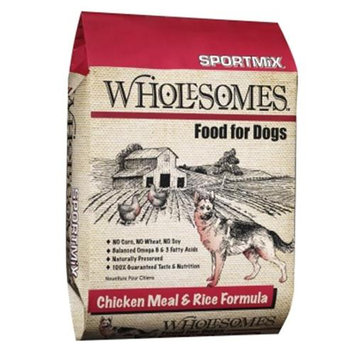 Sportmix Wholesomes Dog Food - Chicken Meal & Rice - 40 lbs.