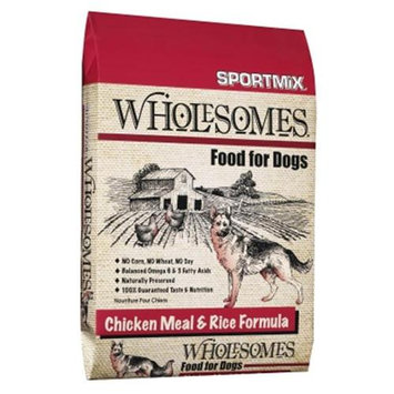 Sportmix Wholesomes Dog Food - Chicken Meal & Rice - 16.5 lbs.