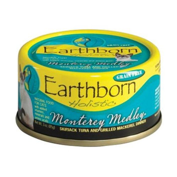 Earthborn Holistic Monterey Medley Cat Can Food 3oz 24 Case