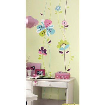 York Wall Coverings Sugar Blossom Peel and Stick Giant Wall Decals