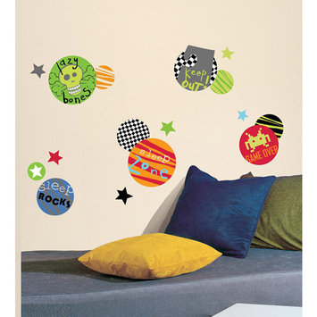 York Wall Coverings Boy Spots Peel and Stick Wall Decals