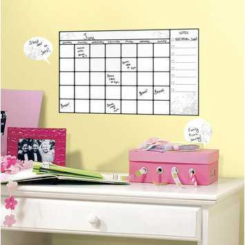 York Wall Coverings Universal Calendar Dry Erase P & S