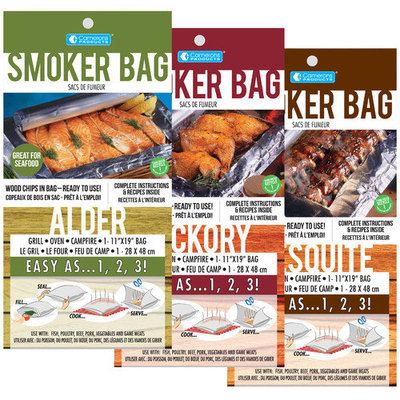 Cameron's Alder, Hickory and Mesquite Smoker Bag