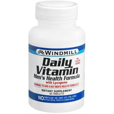 Daily Vitamin Men's Formula, 60 Tablets, Windmill Health Products