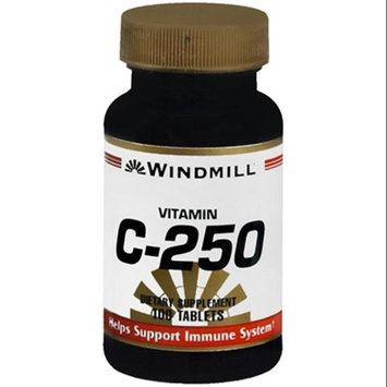 Vitamin C 250 mg, 100 Tablets, Windmill Health Products
