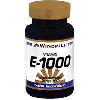 Vitamin E 1000 IU, 30 Softgels, Windmill Health Products