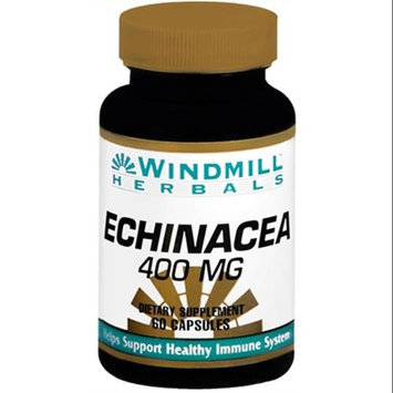 Echinacea Root 400 mg, 60 Capsules, Windmill Health Products