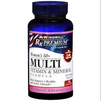 Rxpremium Women's 50+ Multivitamin, 60 Caplets, Windmill Health Products