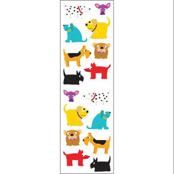 Mrs Grossman MG199-04063 Mrs. Grossmans Stickers-Chubby Dogs