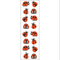 Mrs Grossman MG199-04093 Mrs. Grossmans Stickers-Chubby Ladybugs