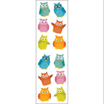 Mrs Grossman MG199-04293 Mrs. Grossmans Stickers-Chubby Owls
