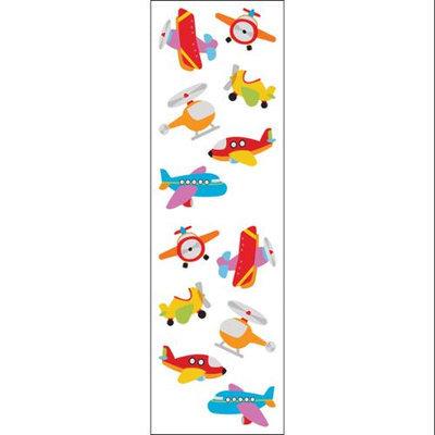 Mrs Grossman MG199-07273 Mrs. Grossmans Stickers-Chubby Airplanes