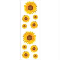 Mrs Grossman MG199-11923 Mrs. Grossmans Stickers-Sunflowers