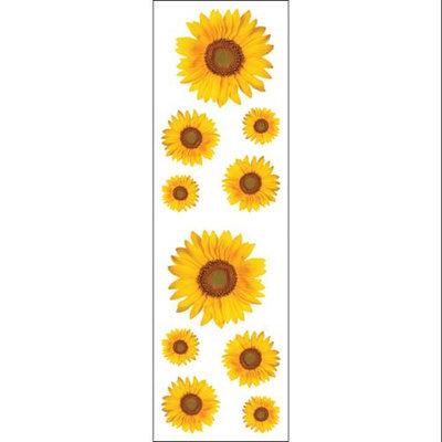 Mrs Grossman MG199-11923 Mrs. Grossmans Stickers-Sunflowers