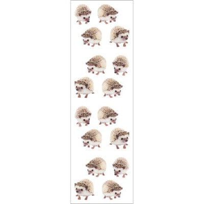 Mrs Grossman Mrs. Grossman's Stickers-Hedgehogs