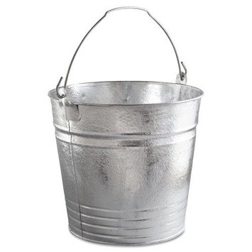 Magnolia Brush Galvanized Pail 14QT